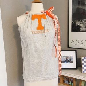 Tops - Game Day Tennessee Pillowcase Tank Top Grosgrain M